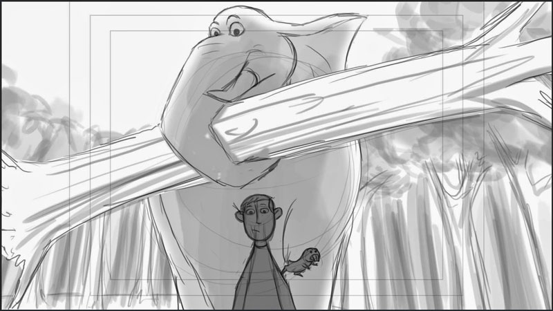 Kim And Her Elephant Storyboards 28