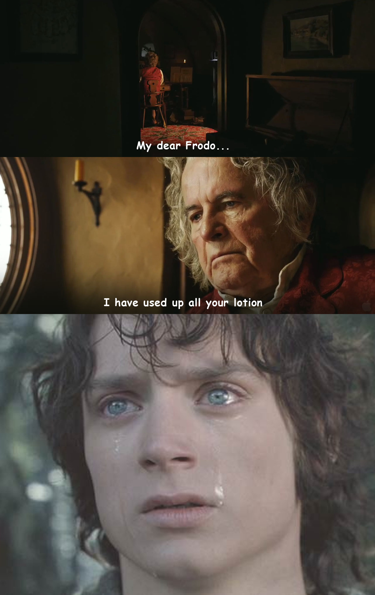 Bilbo Baggins Secret Meme 0