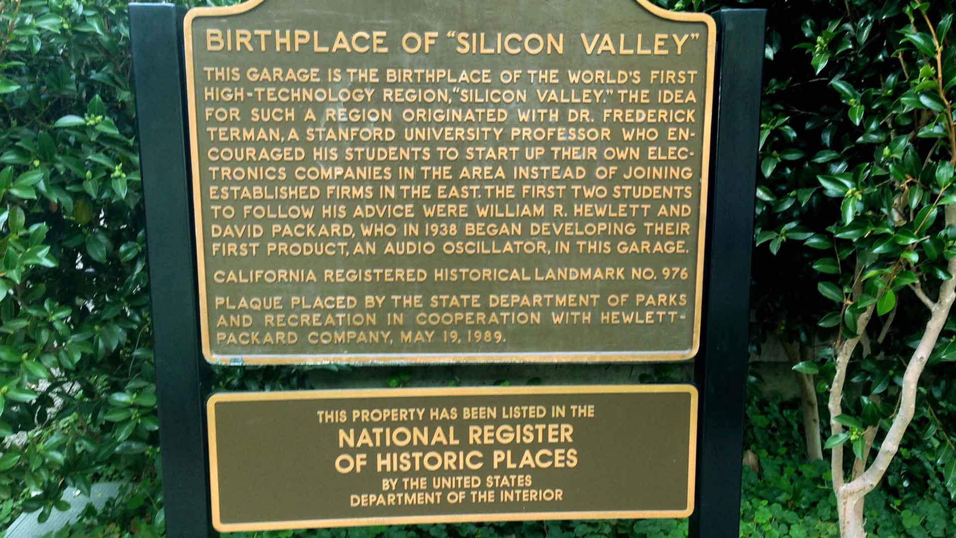 Birthplace Of Silicon Valley 1